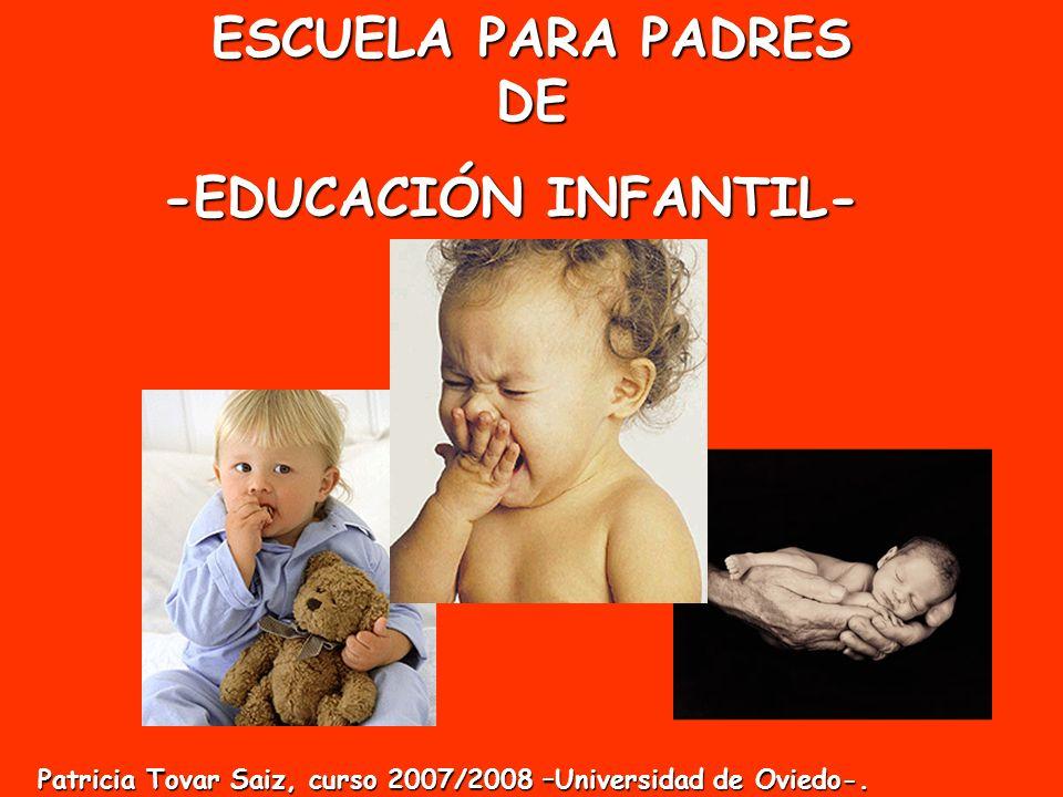 ESCUELA PARA PADRES DE -EDUCACIÓN INFANTIL-