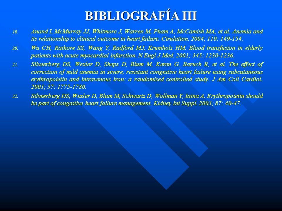 BIBLIOGRAFÍA III