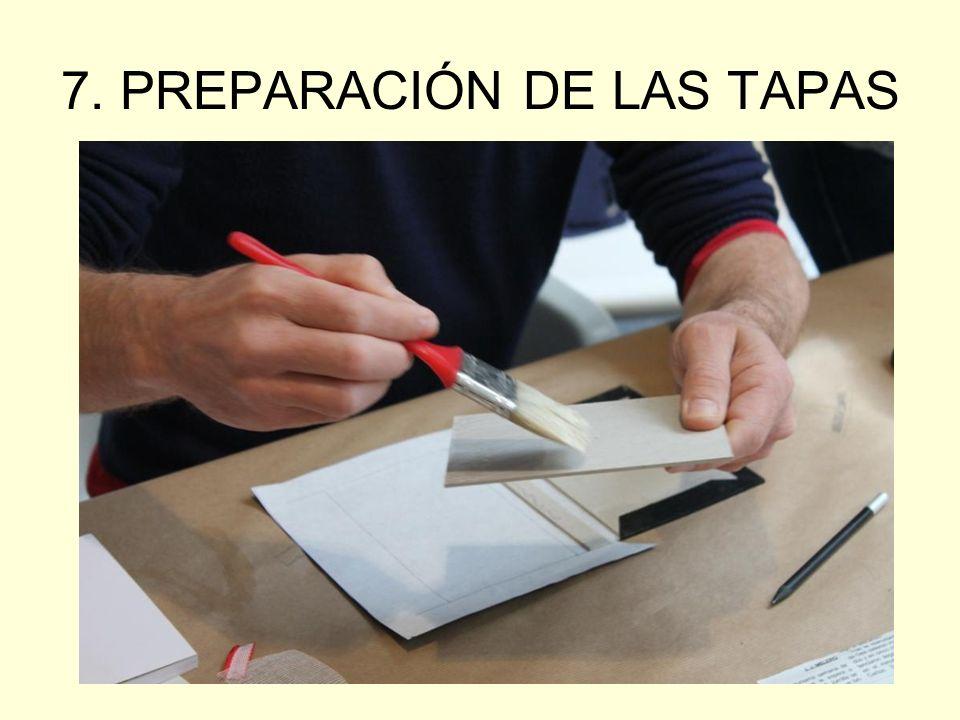7. PREPARACIÓN DE LAS TAPAS