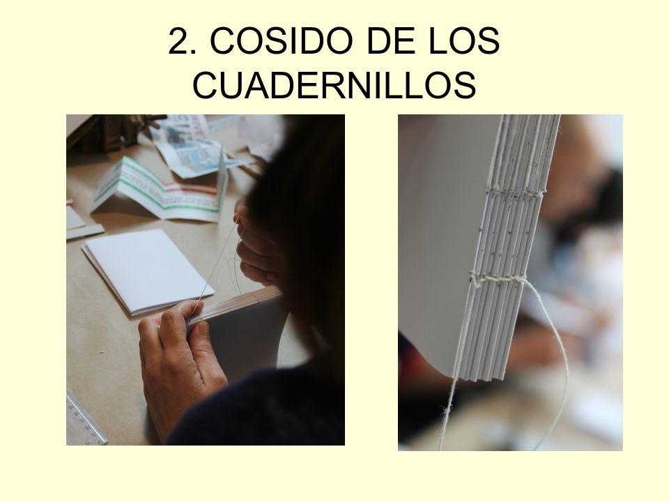 2. COSIDO DE LOS CUADERNILLOS