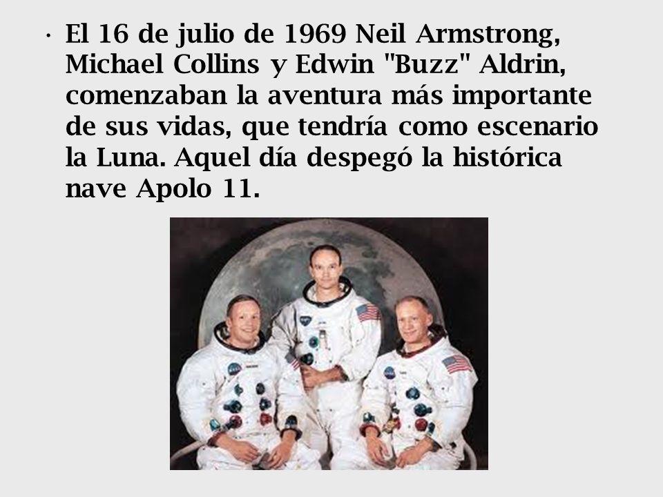 El 16 de julio de 1969 Neil Armstrong, Michael Collins y Edwin Buzz Aldrin, comenzaban la aventura más importante de sus vidas, que tendría como escenario la Luna.