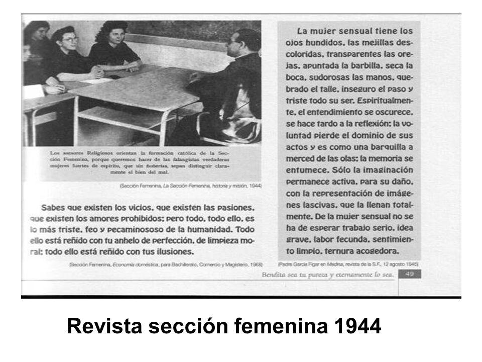 Revista sección femenina 1944