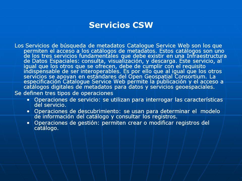 Servicios CSW