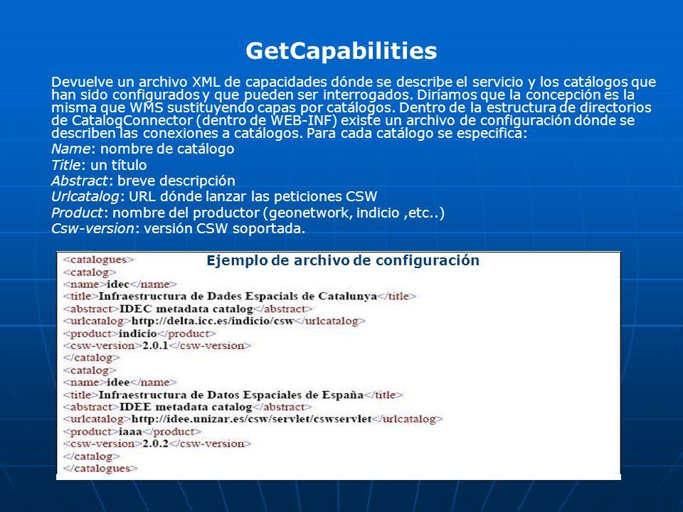 Ejemplo de archivo de configuración