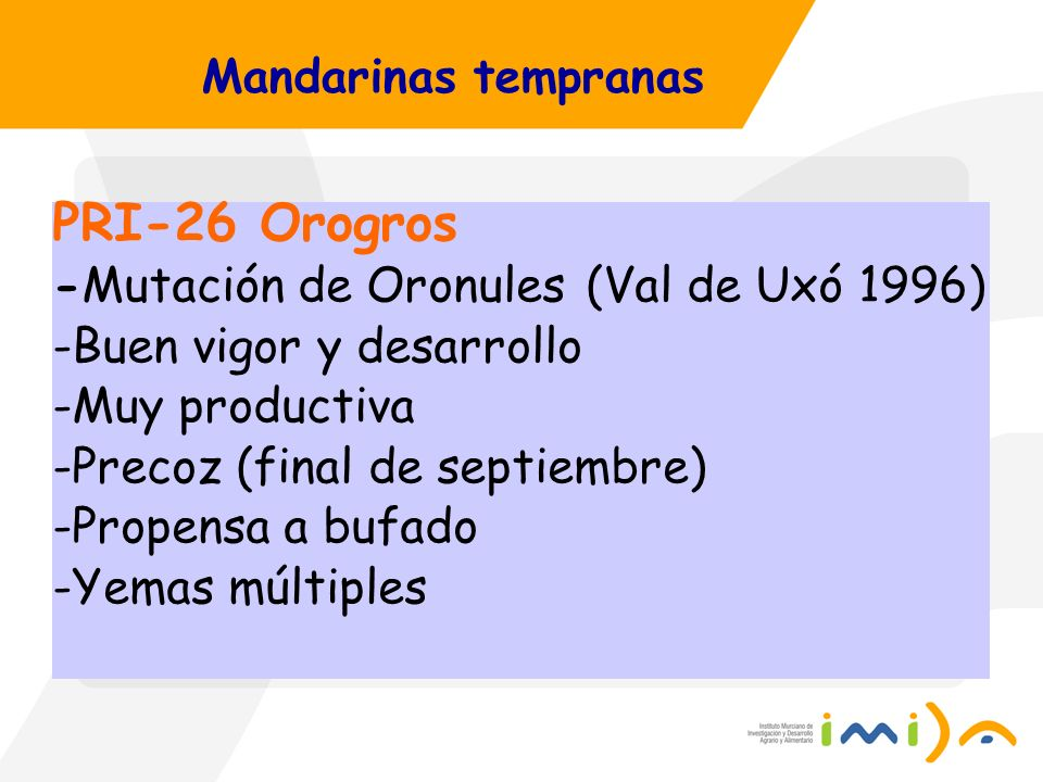 PRI-26 Orogros -Mutación de Oronules (Val de Uxó 1996)