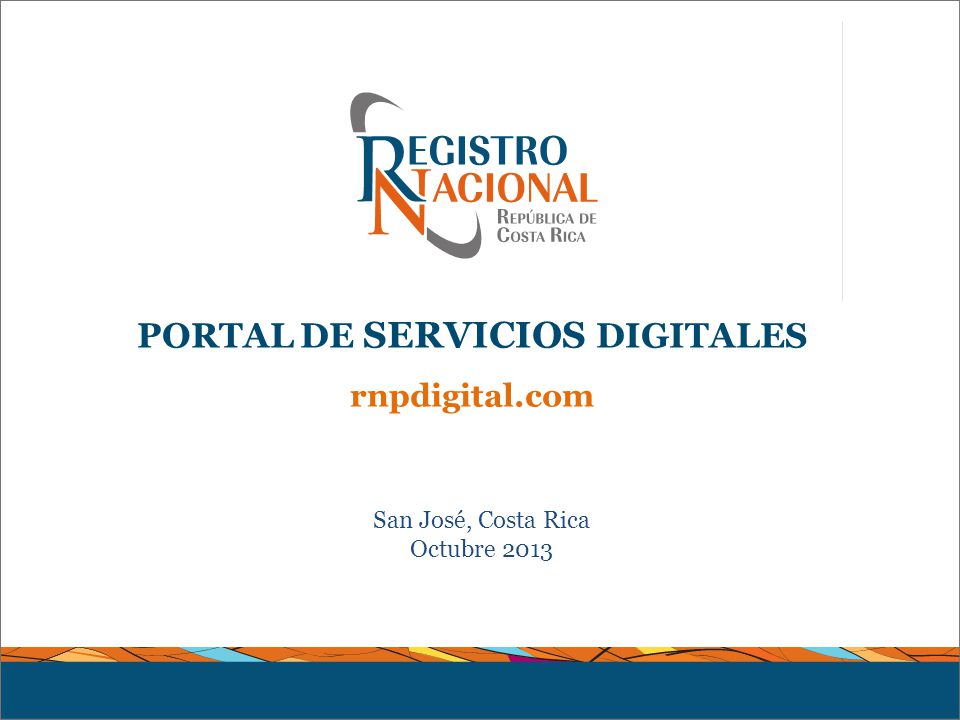 Portal De Servicios Digitales Ppt Descargar