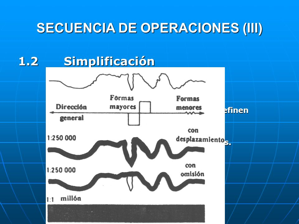 SECUENCIA DE OPERACIONES (III)