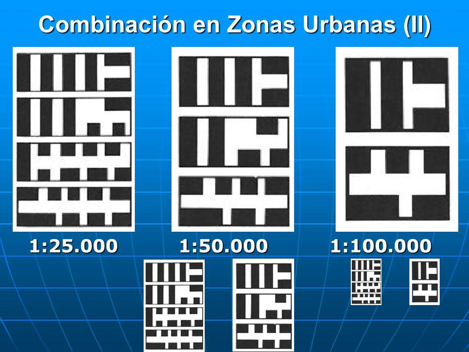 Combinación en Zonas Urbanas (II)