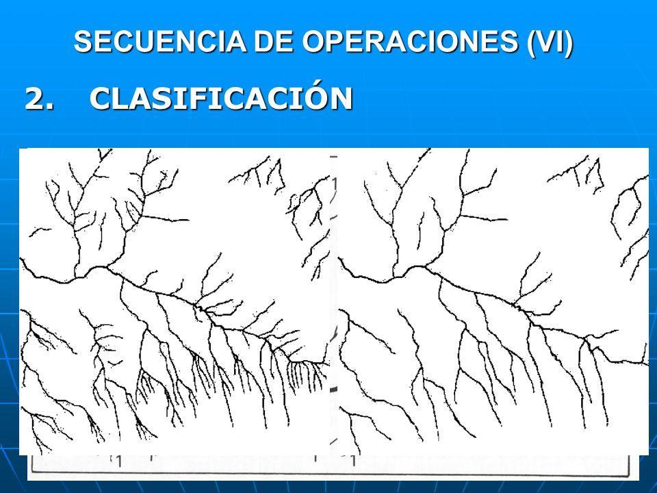 SECUENCIA DE OPERACIONES (VI)