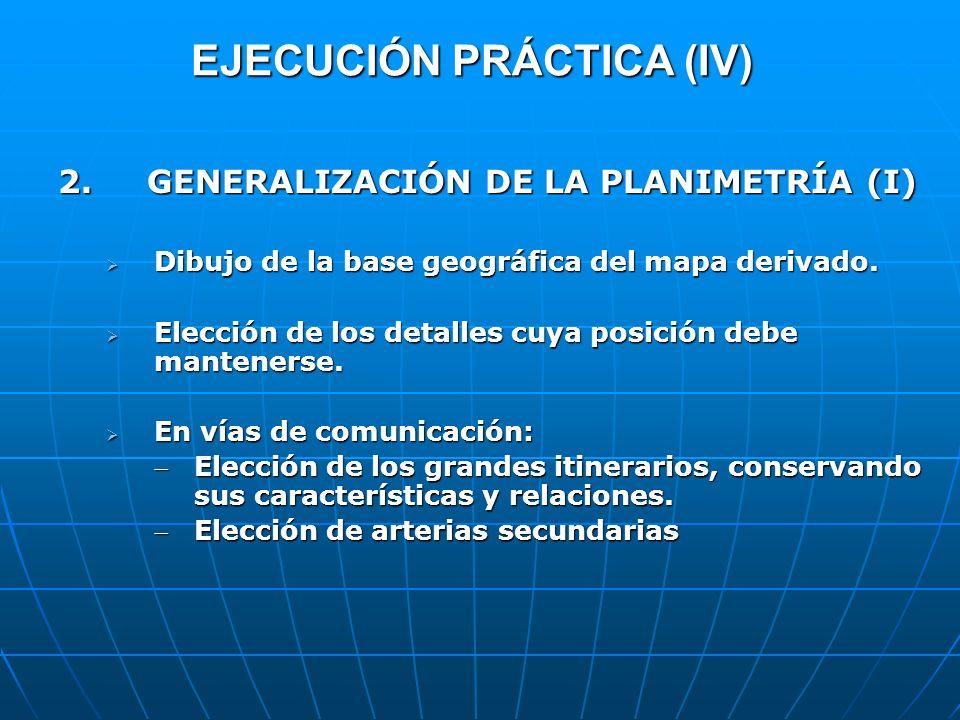 EJECUCIÓN PRÁCTICA (IV)