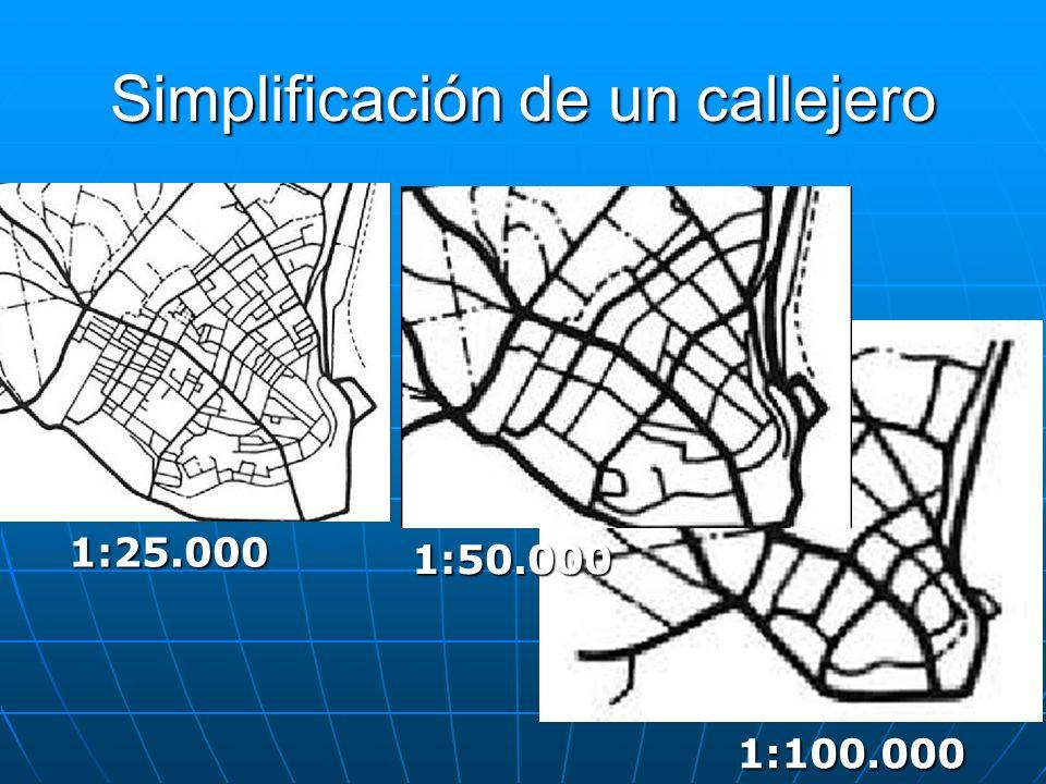 Simplificación de un callejero