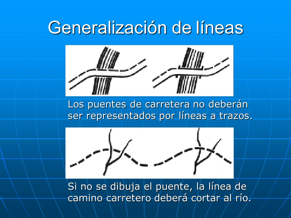 Generalización de líneas