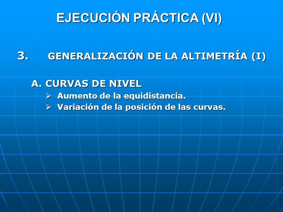 EJECUCIÓN PRÁCTICA (VI)