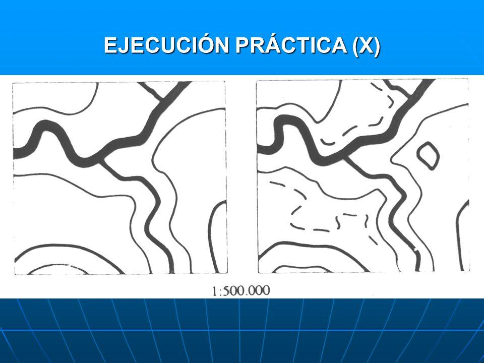 EJECUCIÓN PRÁCTICA (X)