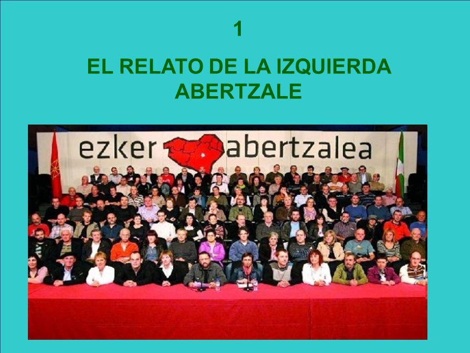 EL RELATO DE LA IZQUIERDA ABERTZALE