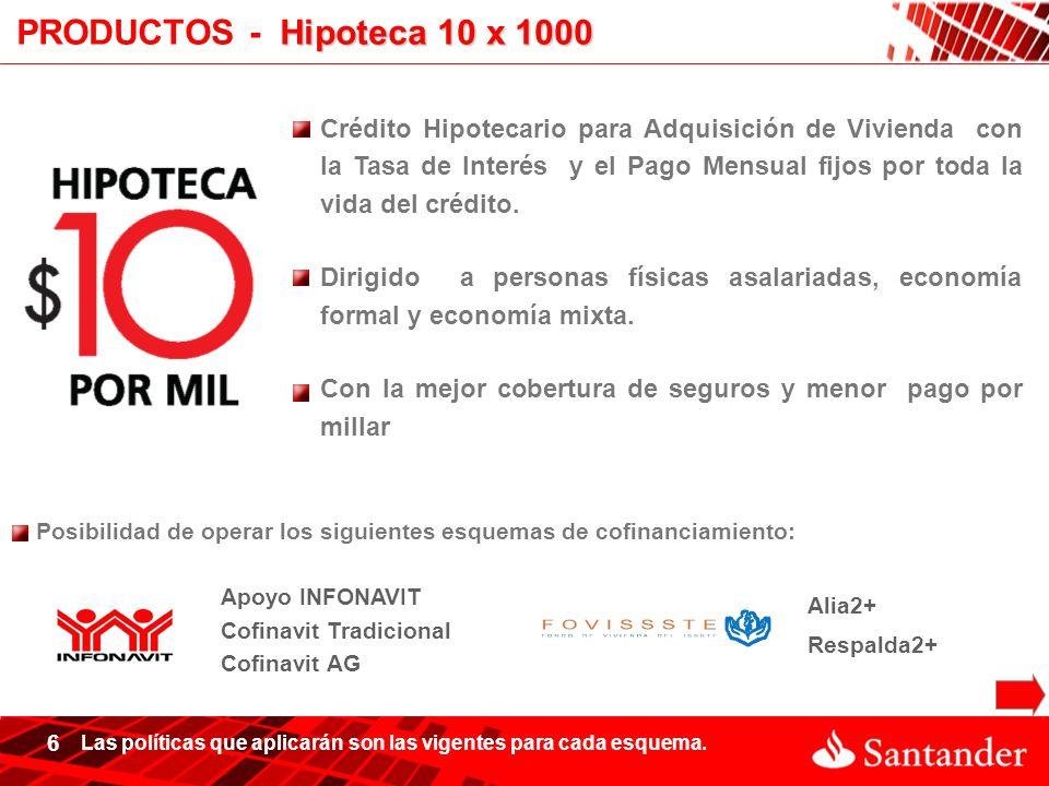 Hipotecario santander ppt descargar for Hipoteca interes fijo