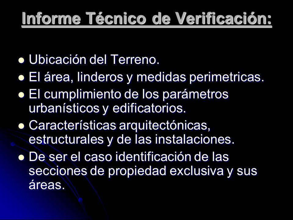 Informe Técnico de Verificación: