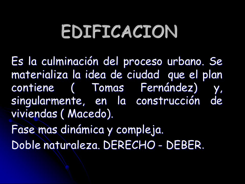 EDIFICACION