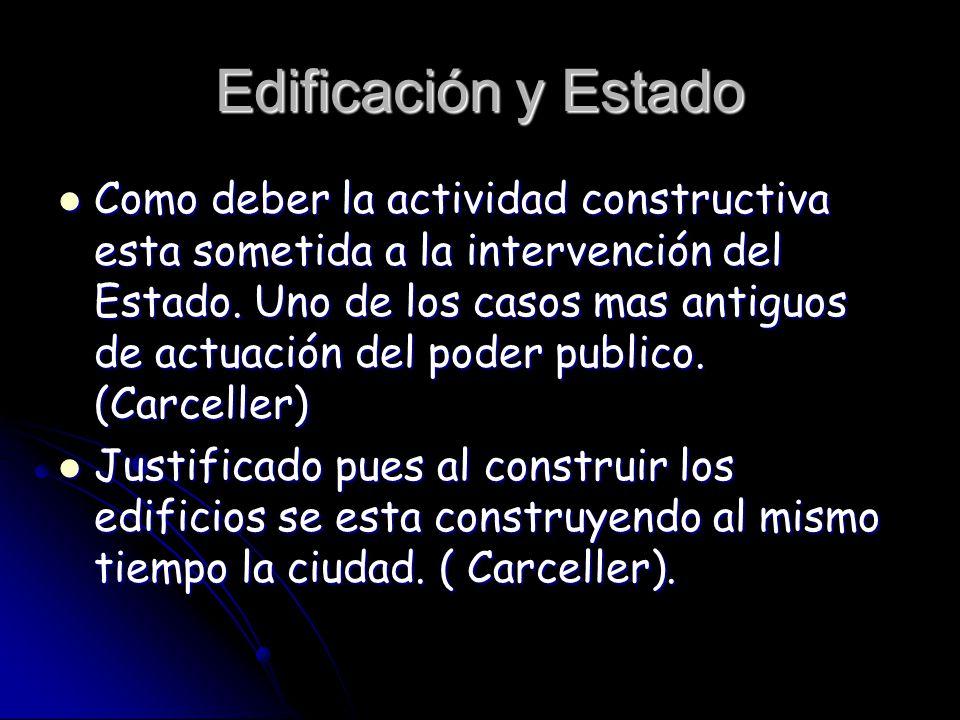 Edificación y Estado