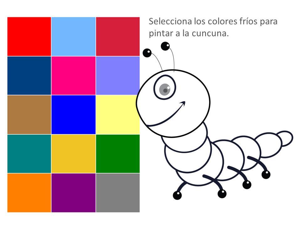 Colores Fríos Colores Cálidos
