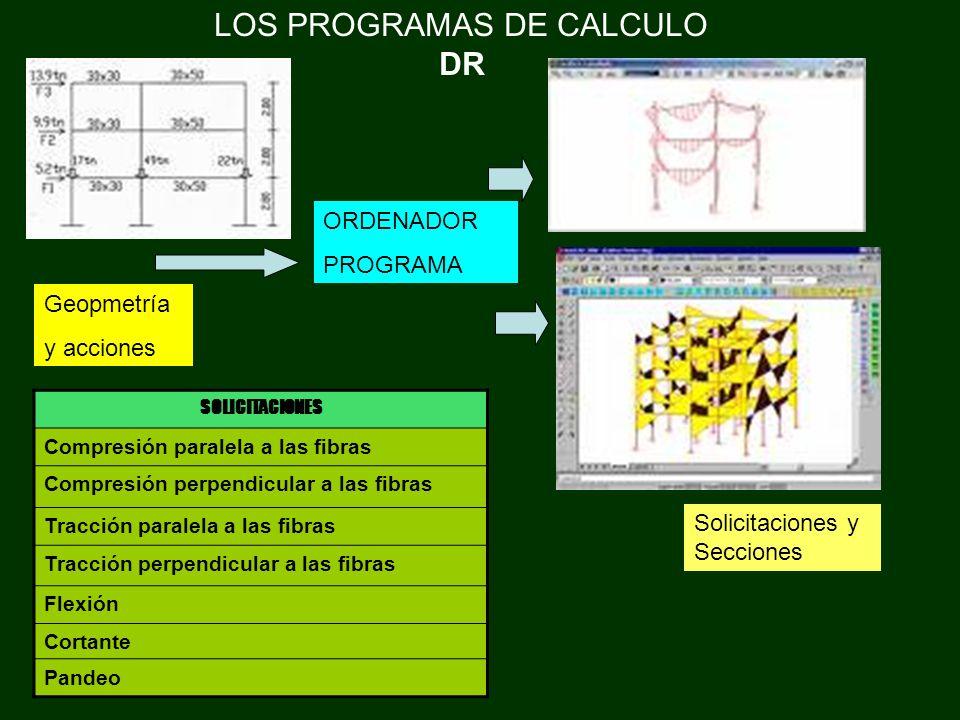 LOS PROGRAMAS DE CALCULO