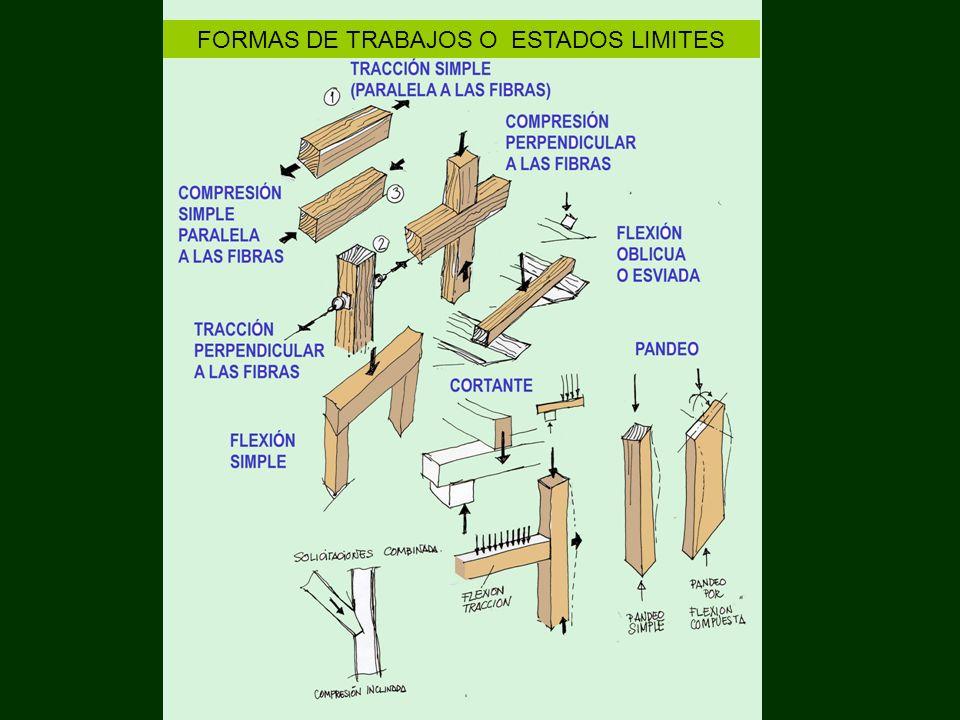 FORMAS DE TRABAJOS O ESTADOS LIMITES