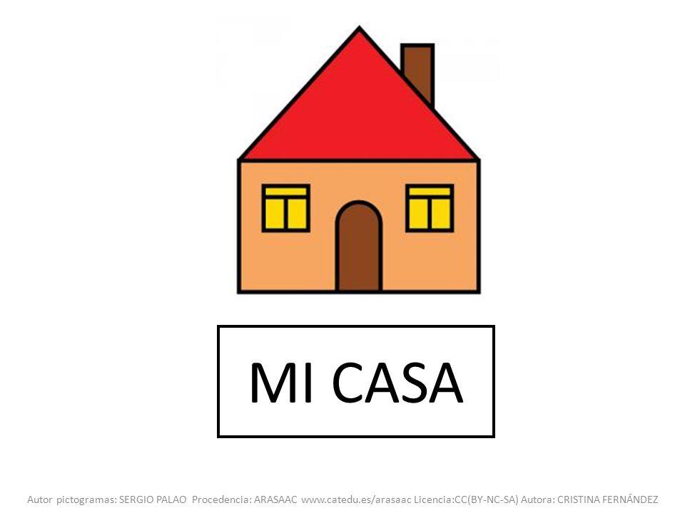 Mi casa autor pictogramas sergio palao procedencia for Mi casa online