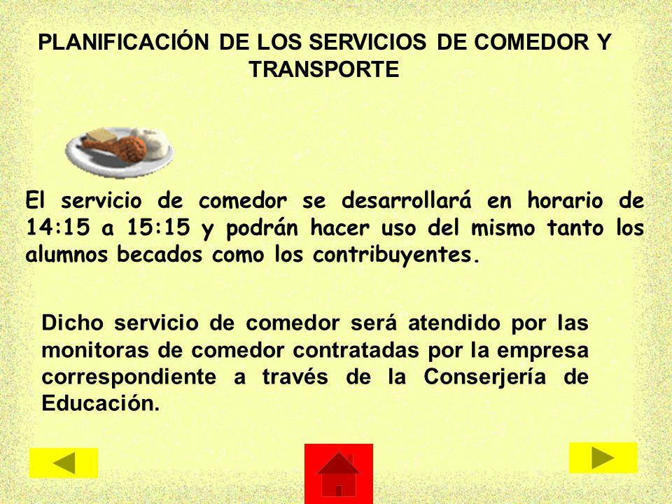 Proyecto de jornada continua c e i p ntra sra de la humildad ppt descargar - Servicios de comedor para empresas ...