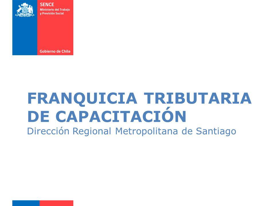 FRANQUICIA TRIBUTARIA DE CAPACITACIÓN
