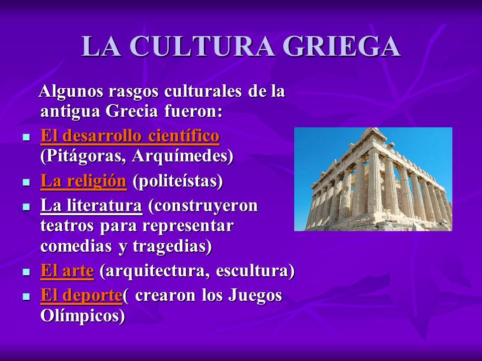 Alejandra la edad antigua ppt descargar for Cultura de la antigua grecia
