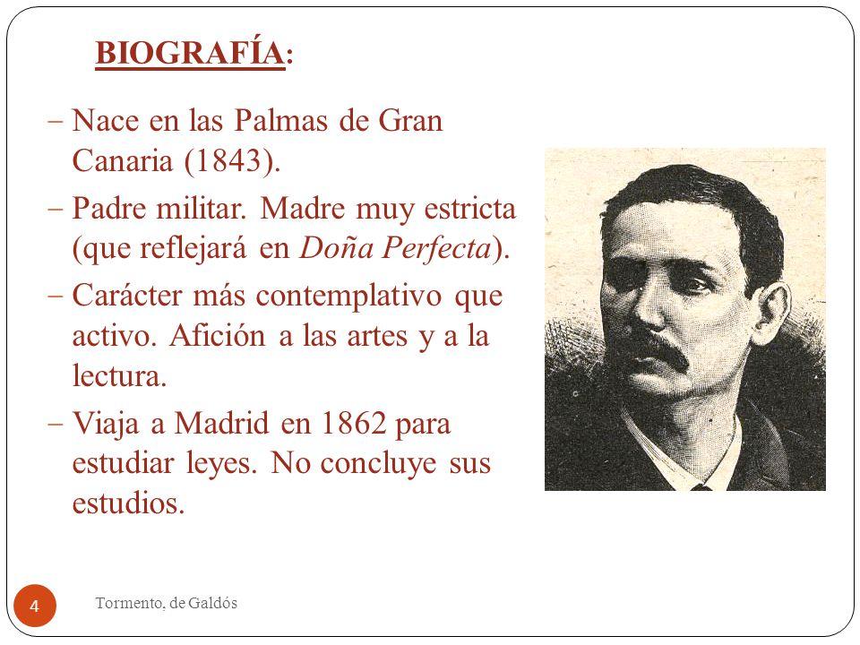 Benito p rez gald s tormento 1884 ppt descargar - Estudios en las palmas de gran canaria ...