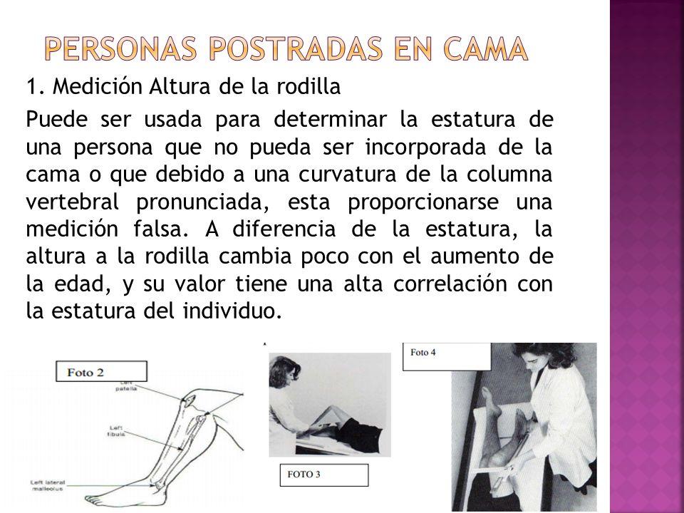 T cnica antropom trica para medir longitud y talla ppt for Que medidas tiene una cama individual