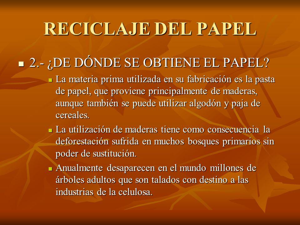 Reciclaje el papel ppt video online descargar for De donde se obtiene el marmol