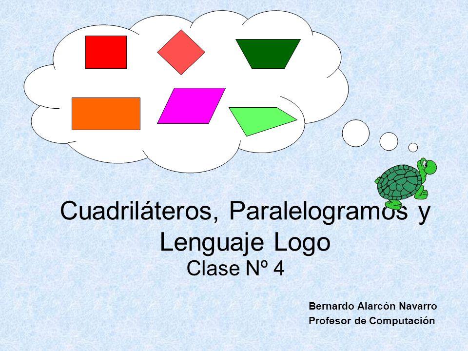 Cuadriláteros, Paralelogramos y Lenguaje Logo