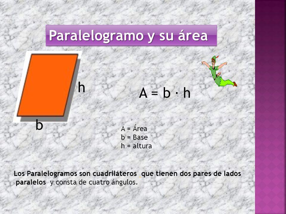 Paralelogramo y su área