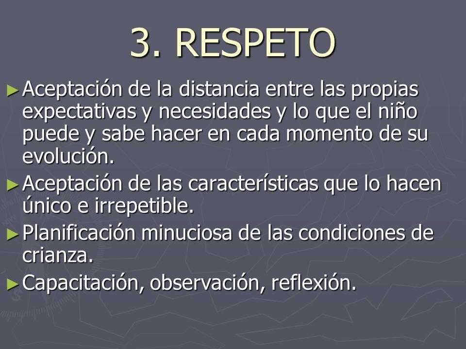 3. RESPETO