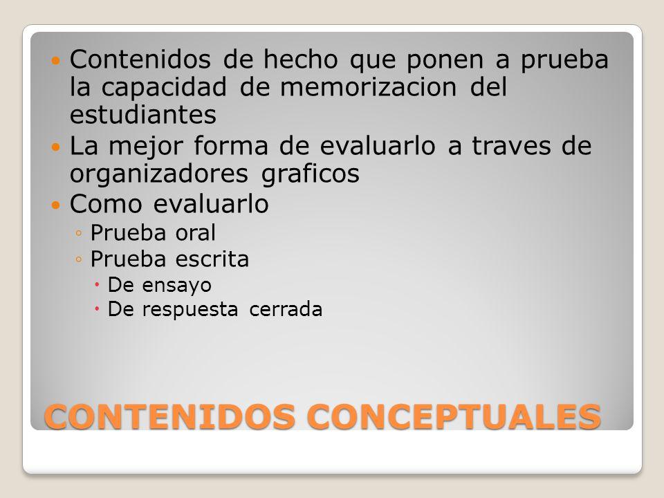 CONTENIDOS CONCEPTUALES