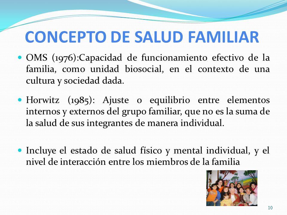 La familia en la atenci n de salud ppt video online for Concepto de familia pdf