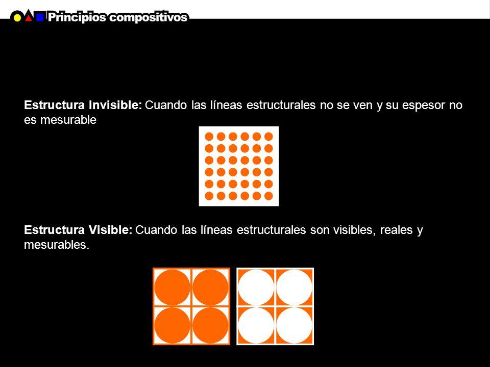 Estructura Invisible: Cuando las líneas estructurales no se ven y su espesor no es mesurable