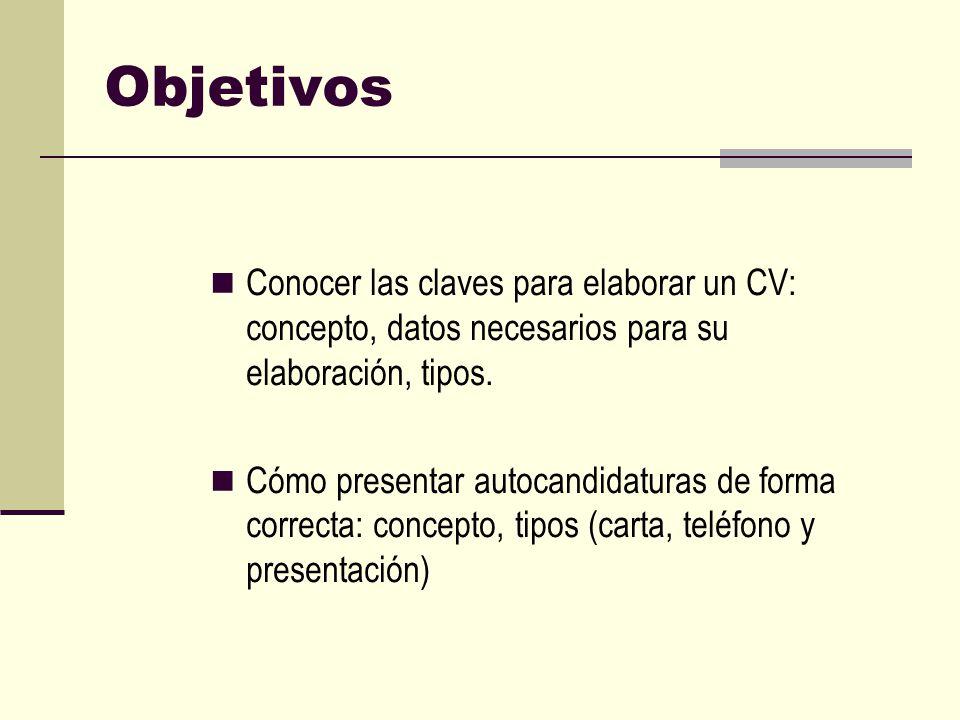 Currículum y Carta de Presentación | stagejd.client ...