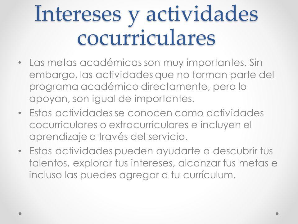 Excelente Actividades Extracurriculares En El Ejemplo De Currículum ...
