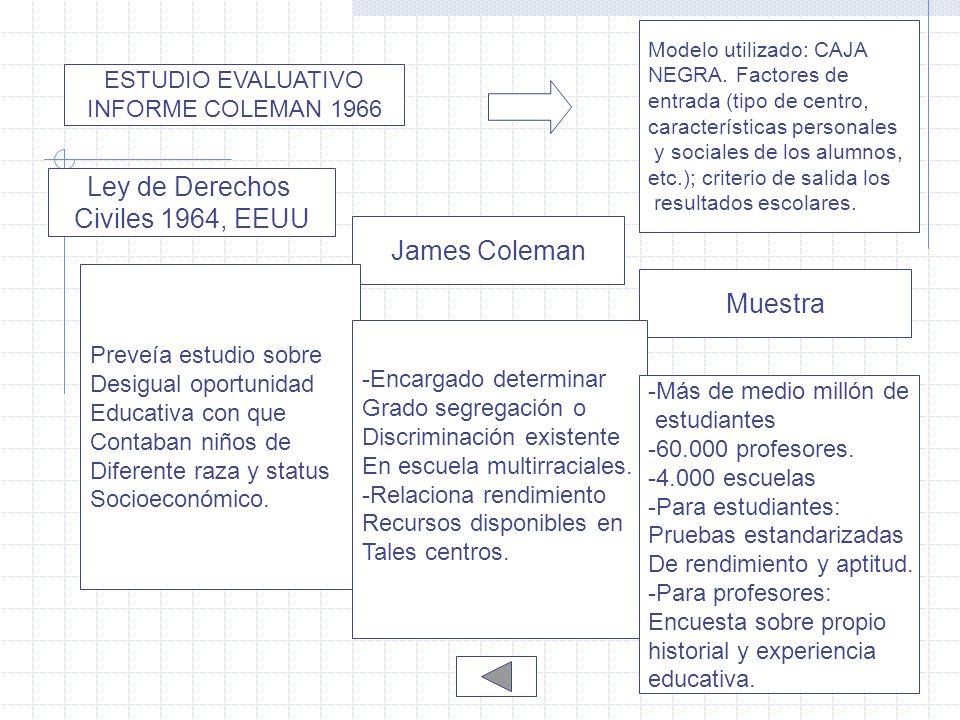 EL MOVIMIENTO DE INVESTIGACIÓN DE EFICACIA ESCOLAR - ppt descargar