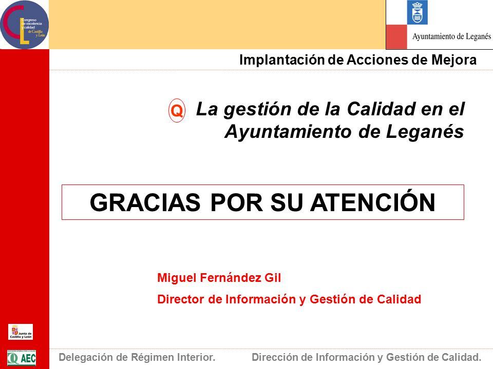Congreso de excelencia y calidad de castilla y le n ppt for Ayuntamiento de madrid oficina de atencion integral al contribuyente