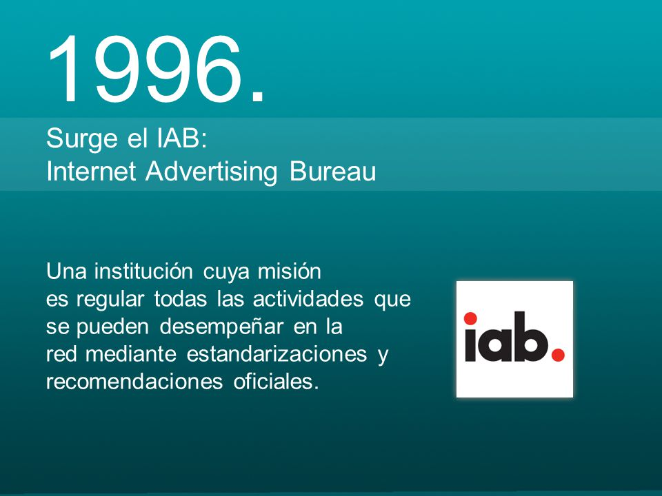 Formatos de publicidad on line ppt descargar - Iab internet advertising bureau ...
