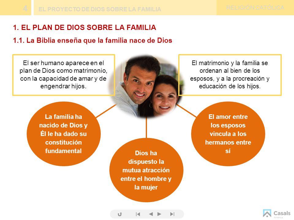 Matrimonio Y Familia En El Proyecto De Dios : El proyecto de dios sobre la familia ppt video online