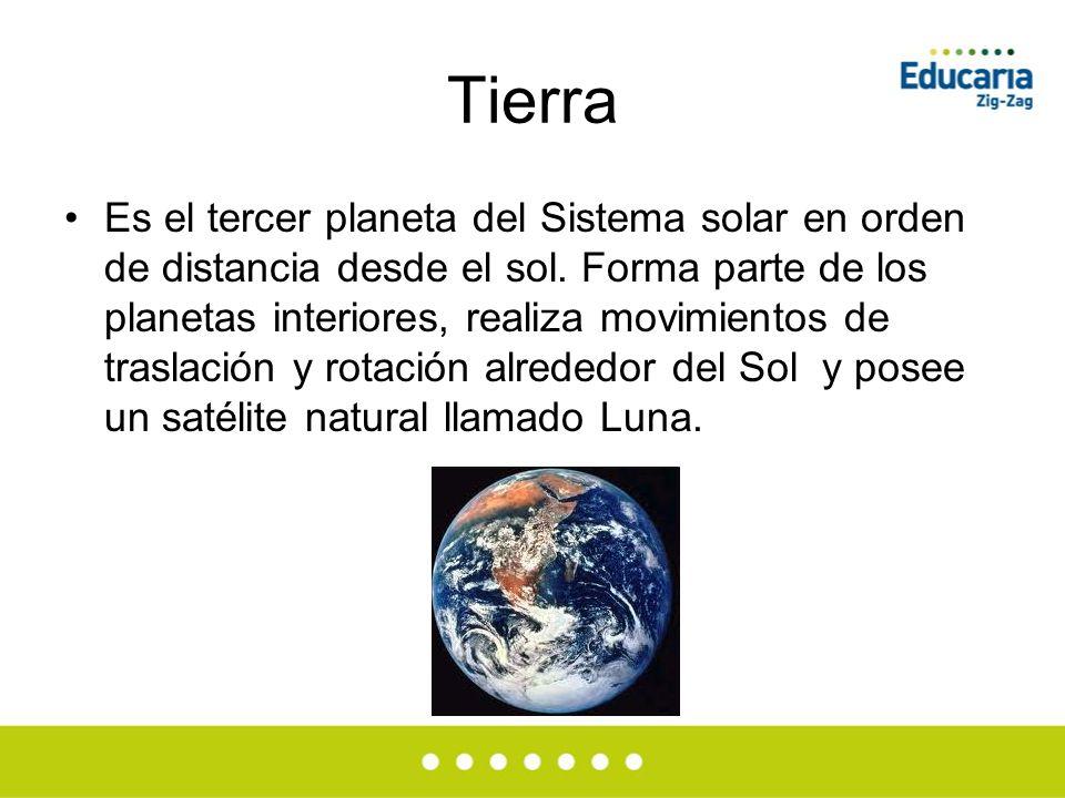 Los planetas del sistema solar ppt video online descargar - Caracteristicas de los planetas interiores ...