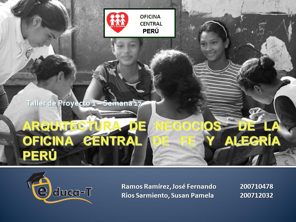 ARQUITECTURA DE NEGOCIOS DE LA OFICINA CENTRAL DE FE Y ALEGRÍA PERÚ