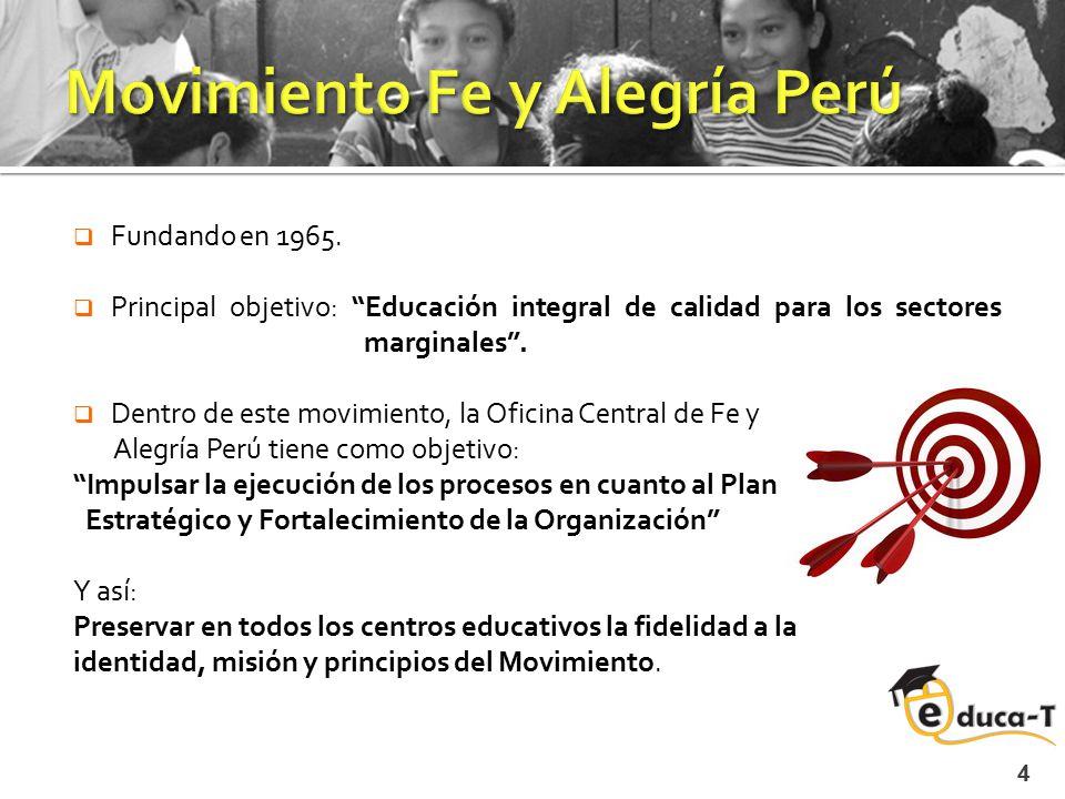 Movimiento Fe y Alegría Perú