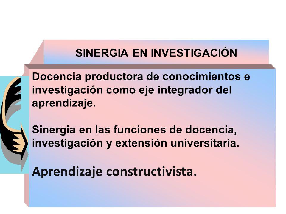 SINERGIA EN INVESTIGACIÓN