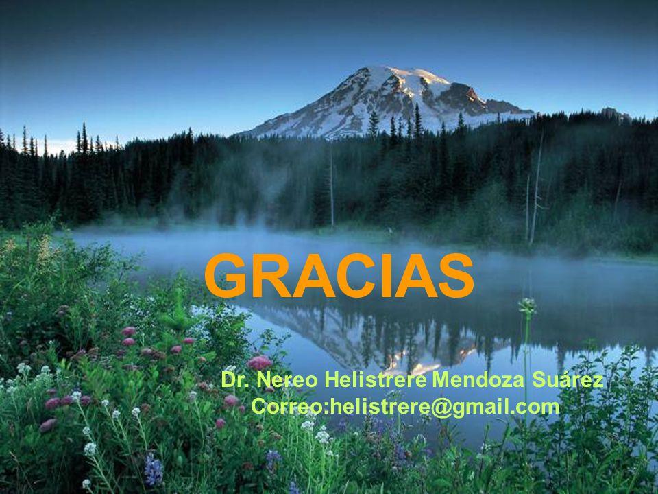 GRACIAS Dr. Nereo Helistrere Mendoza Suárez